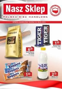 Gazetka promocyjna Nasz Sklep - Oferta promocyjna Nasz Sklep - ważna do 31-01-2021