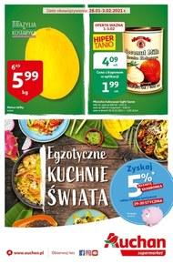 Kuchnie świata w Auchan Supermarket!