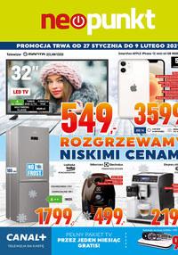 Gazetka promocyjna NEOPUNKT - Neopunkt rozgrzewa niskimi cenami  - ważna do 09-02-2021