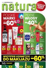Gazetka promocyjna Drogerie Natura - Zadbaj o włosy z Naturą! - ważna do 10-02-2021