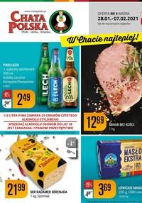 Gazetka promocyjna Chata Polska - Nowe okazje w sklepie Chata Polska - ważna do 07-02-2021