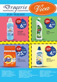 Gazetka promocyjna Vica - Zadbaj o czystość z Vica!  - ważna do 15-02-2021