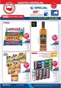 Gazetka promocyjna Specjał - Oferta handlowa Specjał - ważna do 07-02-2021
