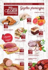 Gazetka promocyjna PSS Bochnia - Gazetka promocyjna PS Bochnia - ważna do 03-02-2021