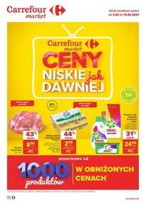 Gazetka promocyjna Carrefour Market - Tanie zakupy w Carrefour Market - ważna do 13-02-2021