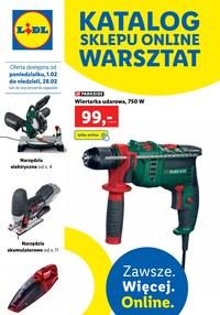 Gazetka promocyjna Lidl - Warsztat Lidla - ważna do 28-02-2021