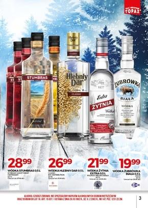 Topaz - oferta z alkoholem