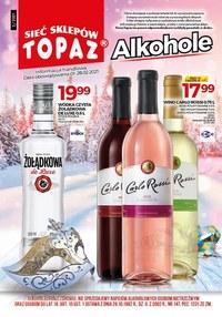 Gazetka promocyjna Topaz - Topaz - oferta z alkoholem - ważna do 28-02-2021