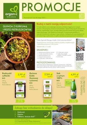 Gazetka promocyjna Organic - Organic - promocje w lutym