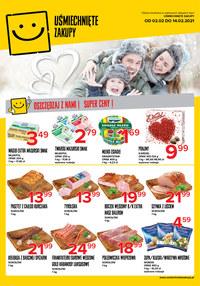 Gazetka promocyjna Uśmiechnięte zakupy - Oszczędzaj z Uśmiechnięte Zakupy!  - ważna do 14-02-2021