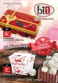 Gazetka promocyjna bi1 - Słodkie zakupy w Bi1 - ważna do 09-02-2021