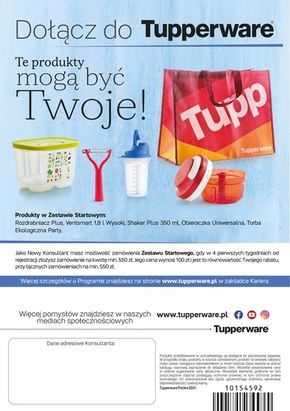 Oferta miesiąca Tupperware!