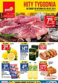 Gazetka promocyjna POLOmarket - Hity Tygodnia w sklepach Polomarket   - ważna do 09-02-2021