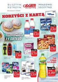 Gazetka promocyjna Społem Olsztyn - Pyszne pączki w Społem Olsztyn! - ważna do 15-02-2021