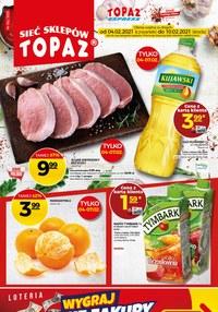 Gazetka promocyjna Topaz - Niskie ceny w Topaz - ważna do 10-02-2021