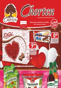 Gazetka promocyjna Chorten - Walentynkowa oferta Chorten! - ważna do 17-02-2021