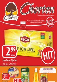 Gazetka promocyjna Chorten - Plakat promocyjny Chorten  - ważna do 24-02-2021