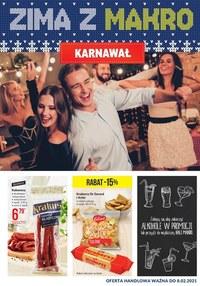 Gazetka promocyjna Makro Cash&Carry - Karnawałowa oferta Makro! - ważna do 14-02-2021