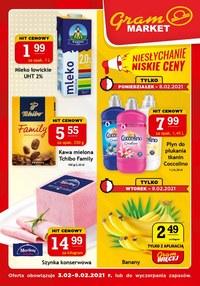 Gazetka promocyjna Gram Market - Niesłychanie niskie ceny w Gram Markecie - ważna do 09-02-2021