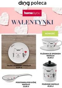 Gazetka promocyjna Home&You - Walentynki w Home&You - ważna do 14-02-2021
