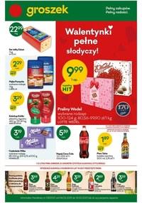 Gazetka promocyjna Groszek  - Walentynki razem z Groszkiem! - ważna do 16-02-2021