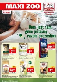 Gazetka promocyjna Maxi ZOO - Szczęśliwe zwierzaki z Maxi Zoo - ważna do 09-02-2021