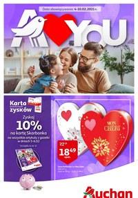 Gazetka promocyjna Auchan Supermarket - Walentynki w Auchan Supermarket! - ważna do 10-02-2021