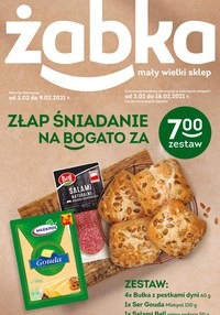 Gazetka promocyjna Żabka - Złap śniadanie w Żabce! - ważna do 16-02-2021