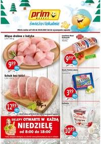 Gazetka promocyjna Prim Market - Świeżo i tanio w Prim Market! - ważna do 12-02-2021