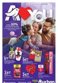 Gazetka promocyjna Moje Auchan - Dużo miłości w Moje Auchan - ważna do 10-02-2021