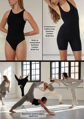 Yoga dance w Oysho