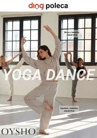 Gazetka promocyjna Oysho - Yoga dance w Oysho - ważna do 05-03-2021