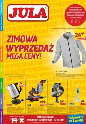 Gazetka promocyjna Jula - Zimowa wyprzedaż w Jula!
