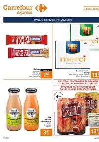 Gazetka promocyjna Carrefour Express - Carrefour Express - gazetka promocyjna - ważna do 22-02-2021