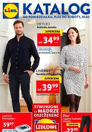 Gazetka promocyjna Lidl - Domowa moda w Lidlu