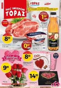 Gazetka promocyjna Topaz - Wyjątkowe promocje w Topaz - ważna do 17-02-2021