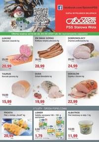 Gazetka promocyjna PSS Stalowa Wola - Promocja w Społem Stalowa Wola - ważna do 20-02-2021