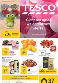 Gazetka promocyjna Tesco Centra Handlowe - Walentynkowa oferta w Tesco  - ważna do 17-02-2021