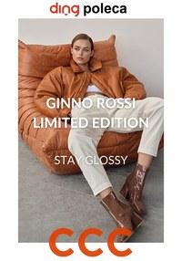 Gazetka promocyjna CCC - Kolekcja limitowana Gino Rossi w CCC - ważna do 14-02-2021