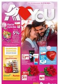 Gazetka promocyjna Moje Auchan - Walentynki w Moje Auchan! - ważna do 17-02-2021