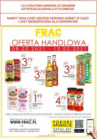 Gazetka promocyjna FRAC - Walentynkowe okazje w Frac - ważna do 13-02-2021
