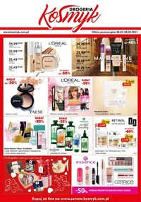 Gazetka promocyjna Drogeria Kosmyk - Promocje na kosmetyki w Drogerii Kosmyk! - ważna do 28-02-2021