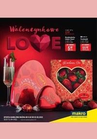 Gazetka promocyjna Makro Cash&Carry - Makro - Walentynkowe Love - ważna do 22-02-2021