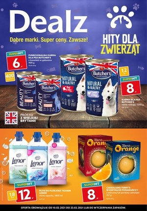 Gazetka promocyjna Dealz - Wszystko dla zwierzaków w Dealz!