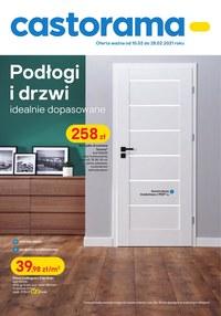 Gazetka promocyjna Castorama - Podłogi i drzwi w Castoramie!