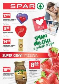 Gazetka promocyjna SPAR - Spar - smaki miłości w jednym sklepie - ważna do 16-02-2021