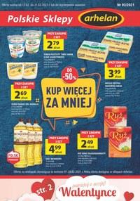 Gazetka promocyjna Arhelan - Arhelan - polskie sklepy - ważna do 21-02-2021