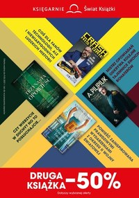 Gazetka promocyjna Księgarnie Świat Książki - Księgarnie Świat Książki - druga książka -50% - ważna do 09-03-2021