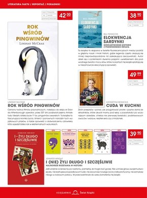 Księgarnie Świat Książki - druga książka -50%