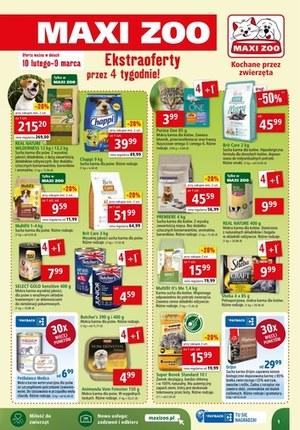 Gazetka promocyjna Maxi ZOO - Ekstra oferty w Maxi ZOO!